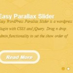 How To Change WP Parallax Content Slider Font
